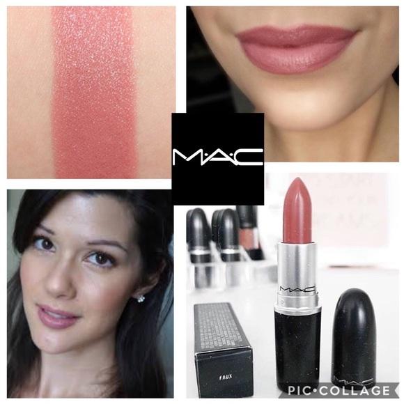 mac cosmetics makeup | mac satin lipstick faux | poshmark
